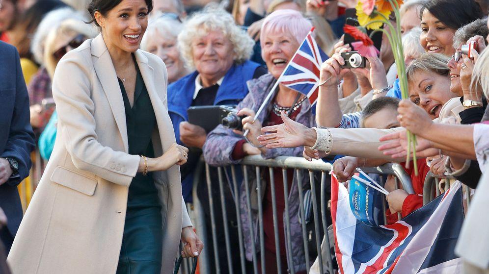 Foto: La duquesa de Sussex en Chichester. (Reuters)