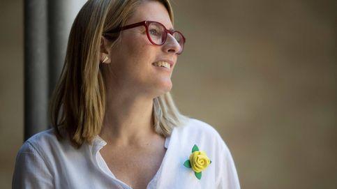 Elsa Artadi, portavoz del Govern, de ayuno con un abrigo de 1.100 euros