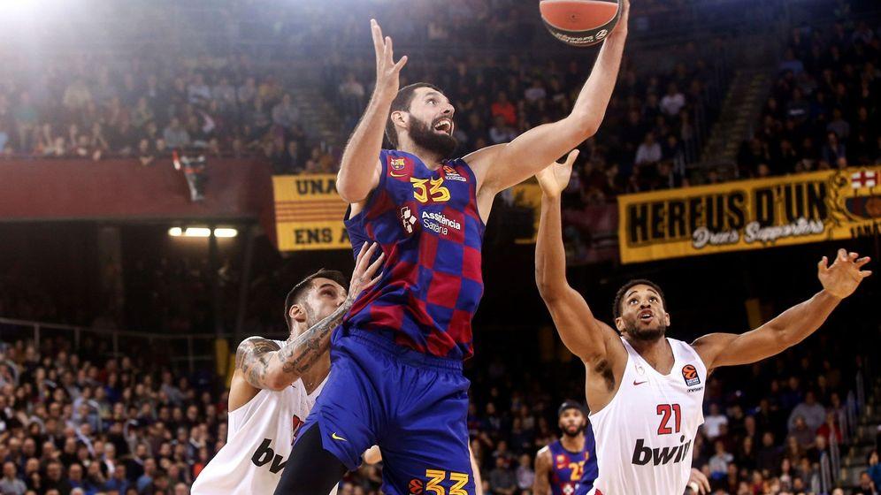 Foto: Nikola Mirotic está siendo el mejor jugador del Barcelona esta temporada. (EFE)