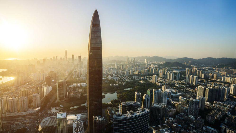Foto: Vista aérea de la ciudad china de Shenzen. (iStock)