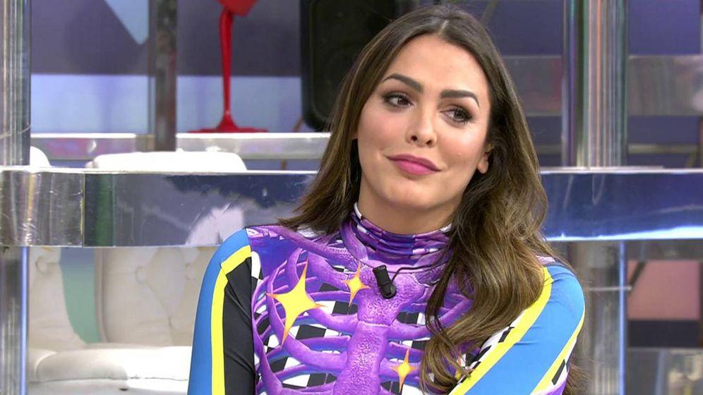Foto: Amor Romeira, en 'Sábado Deluxe'. (Telecinco)
