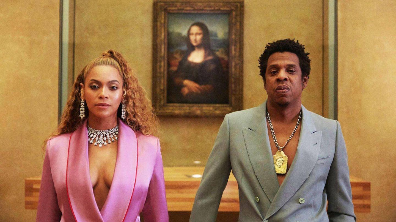 Beyoncé y Jay-Z en el vídeo de Apesh*it.