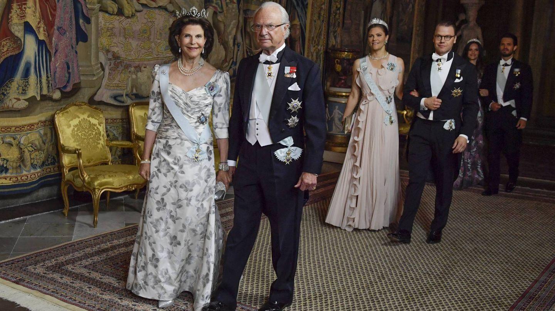 Los reyes de Suecia. (Cordon Press)
