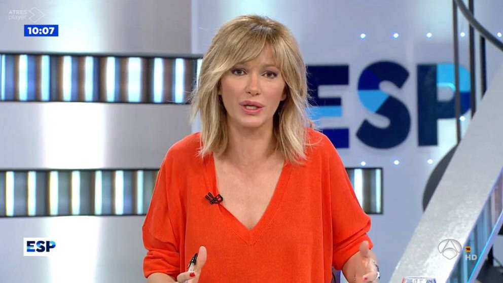 Susanna Griso se entera de la muerte de su hermana mayor mientras estaba en directo