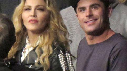 Zac Efron acrecienta los rumores de su encuentro sexual con Madonna