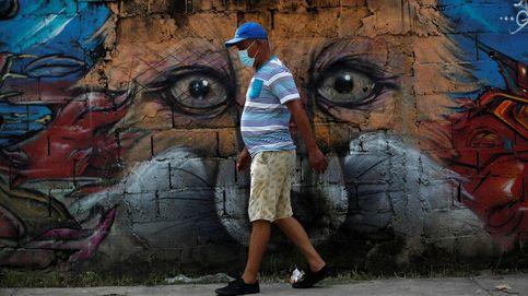 Jornada de desinfección de calles en Panamá