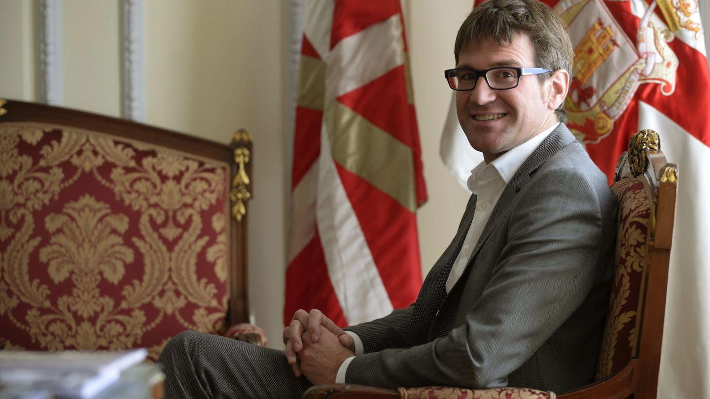 El alcalde de Vitoria, Gorka Urtaran. (EFE)