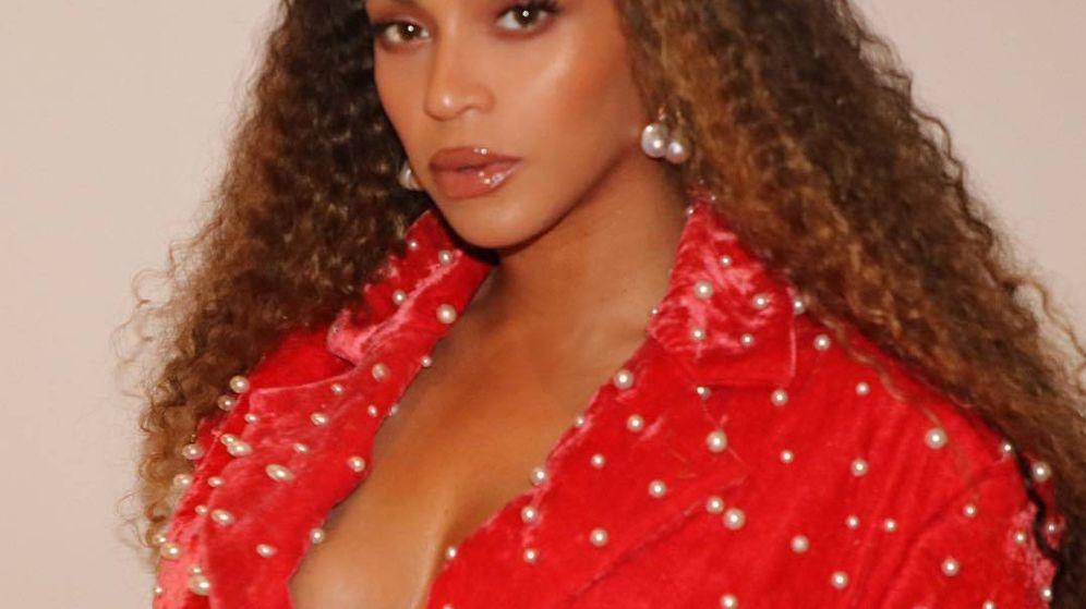Foto: Beyoncé con el conjunto de María Escoté. (@beyonce)