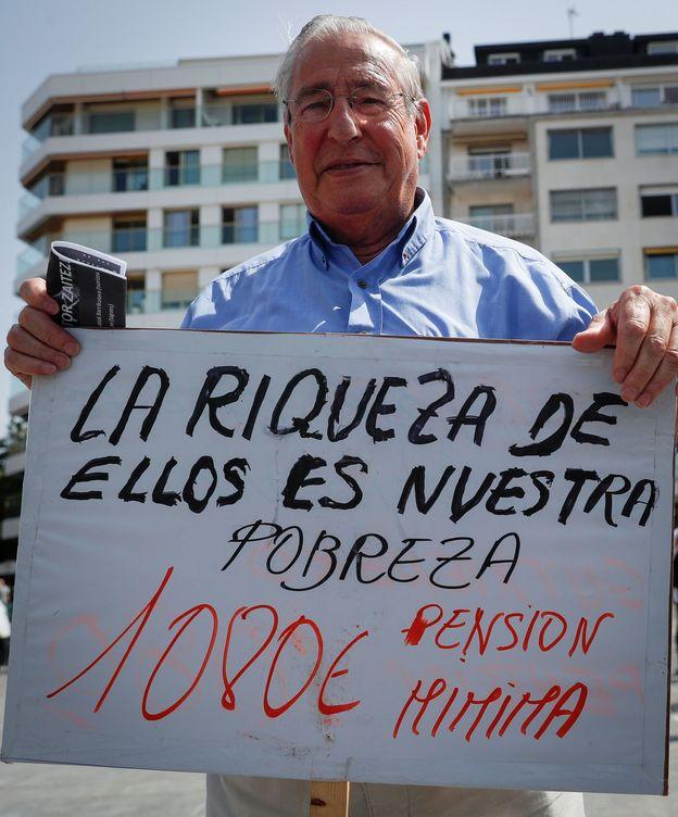 Foto: Concentración de pensionistas