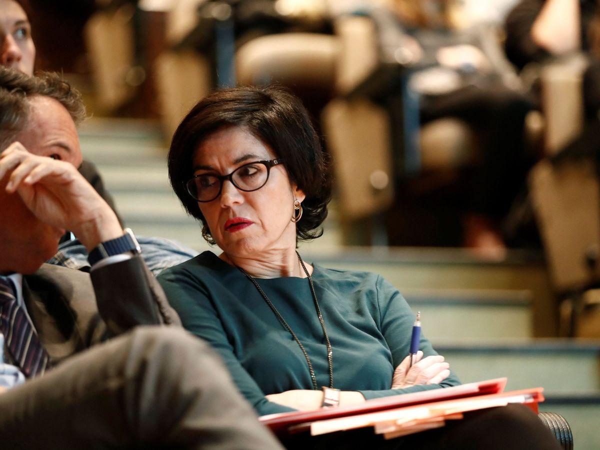 Foto: La magistrada Pilar de Lara, instructora de varias causas de corrupción como el caso Pokemon,  sancionada por retrasos injustificados (EFE)