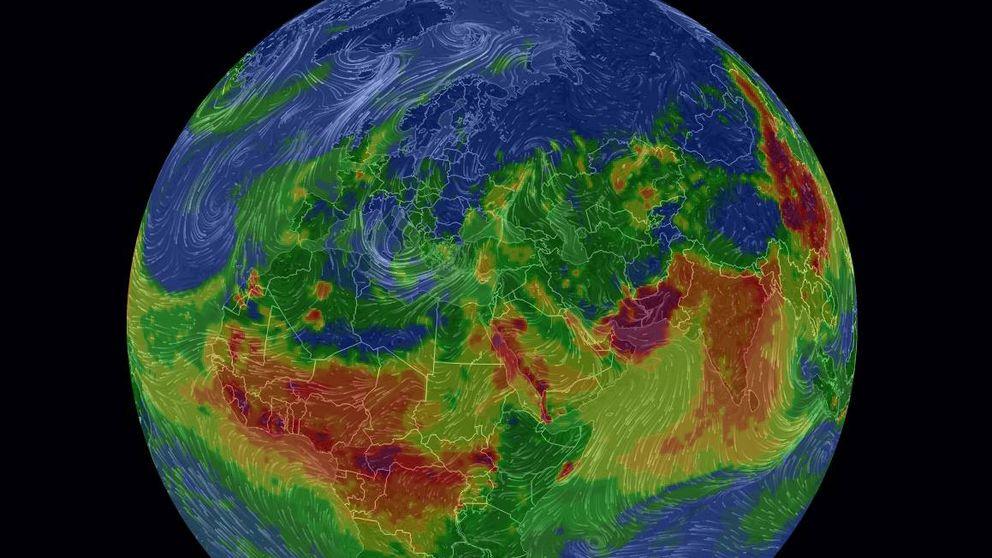¿No ves la contaminación? Este mapa te muestra lo que respiras en tiempo real