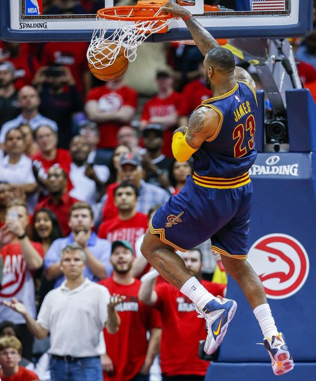 Foto: LeBron james volvió a ser el héroe de Cleveland