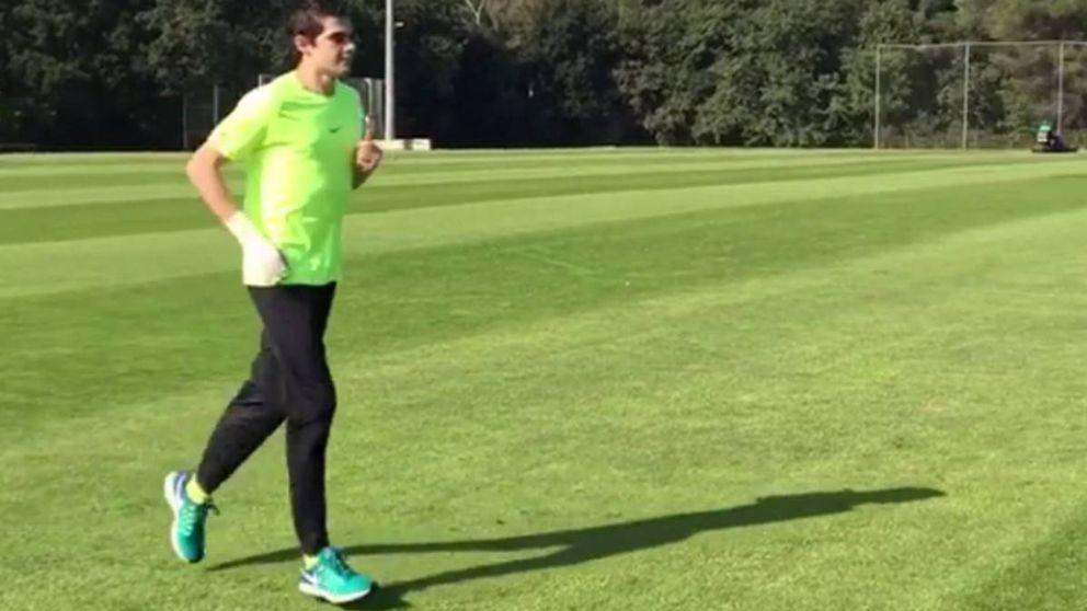 Bruno Hortelano vuelve a sentirse atleta