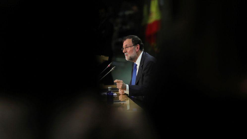 Foto: Mariano Rajoy en la presentación de su libro. (EFE)