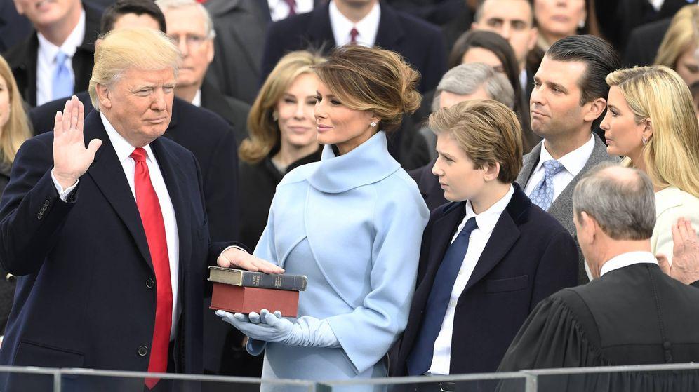 Foto: Donald y Melania el día de la toma de posesión. (Gtres)