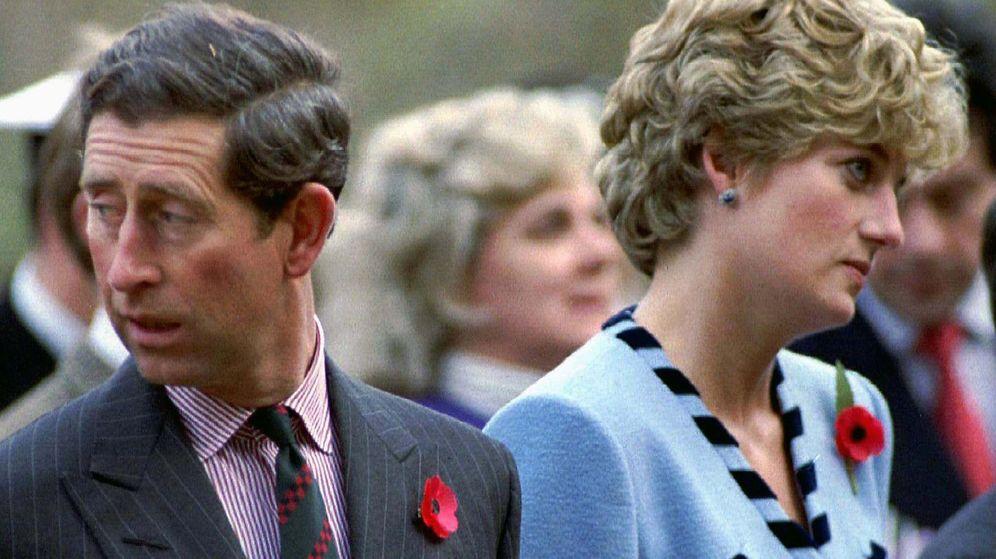Foto: Carlos y Diana de Gales, en 1992. (Reuters)