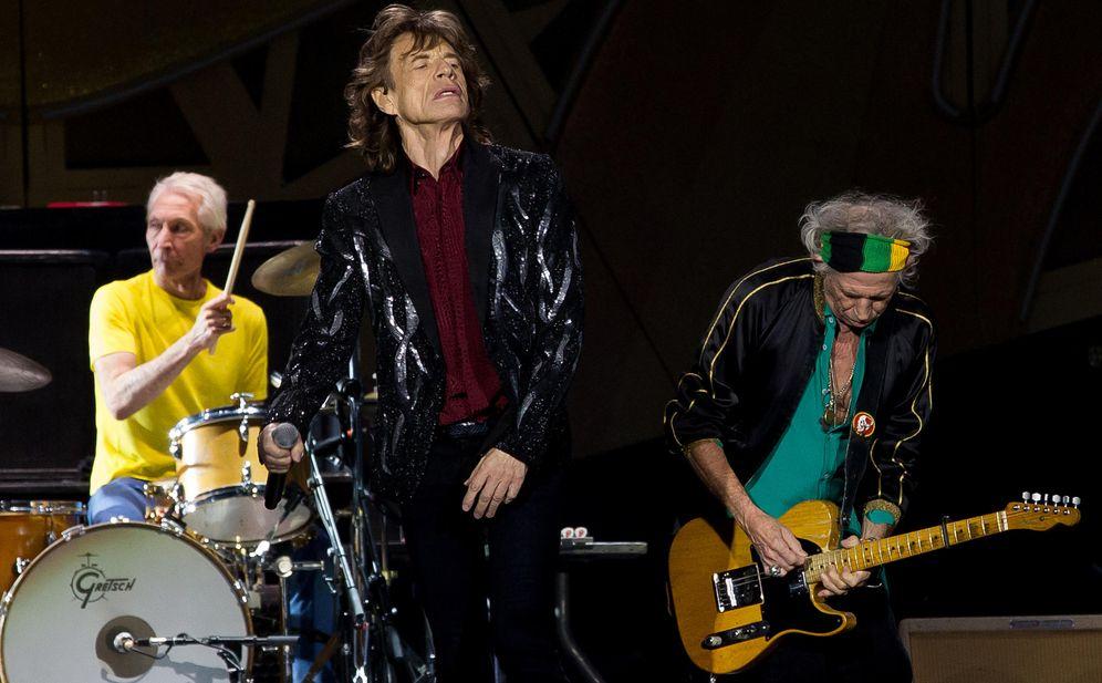Foto: Los Rolling Stones en un concierto en Suecia en 2014 (Gtres)