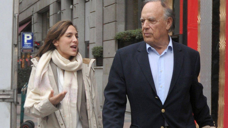 Tamara Falcó junto a su padre, el marqués de Griñón. (Gtres)