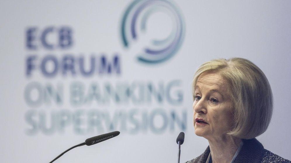 Foto: La presidenta del Consejo Supervisor del Banco Central Europeo, Daniele Nouy. (EFE)