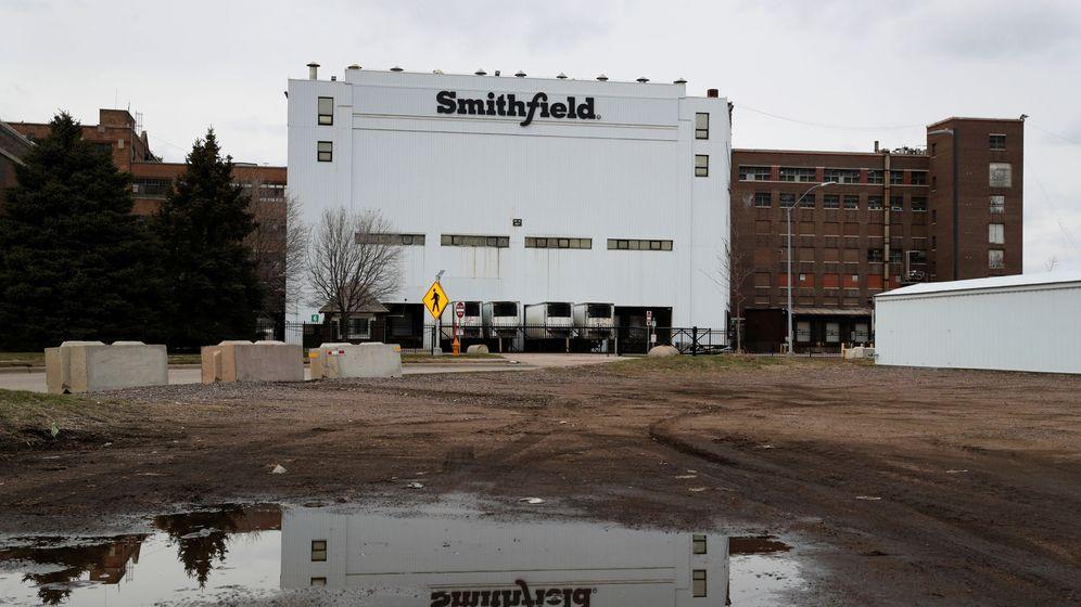 Foto: La planta cárnica de Dakota del Sur. (Reuters)