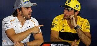 Post de El carisma oculto de Carlos Sainz tras la alargada sombra mediática de Alonso