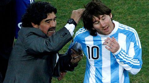 Con Maradona en el Olimpo, ya podemos decir que Messi es el mejor de los mortales