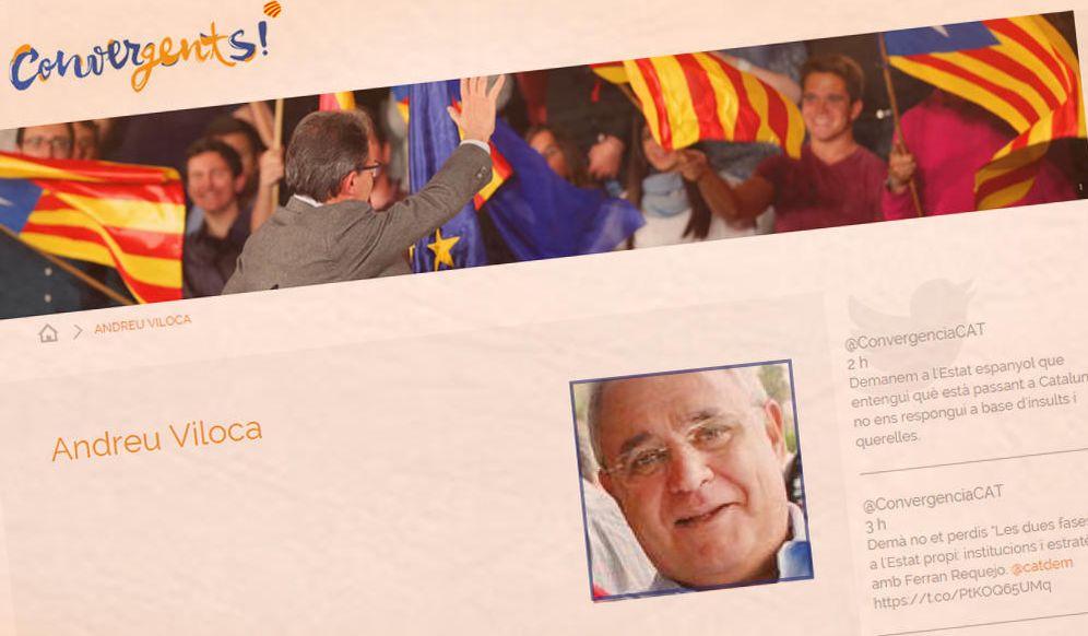 Foto: El tesorero de Convergència, Andreu Viloca