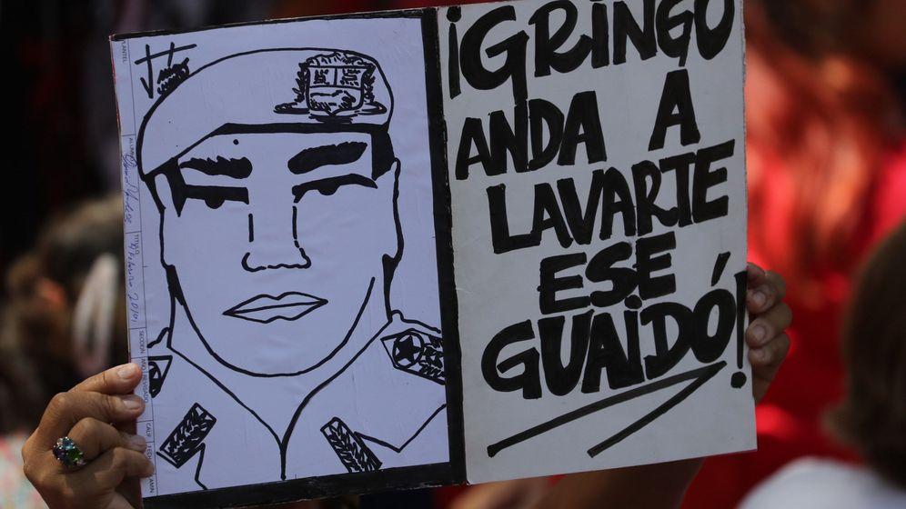 Foto: Manifestación de simpatizantes del presidente de Venezuela, Nicolás Maduro. (EFE)