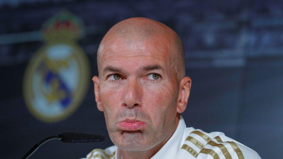 El enfado de Zidane y por qué peligra su puesto en el Real Madrid
