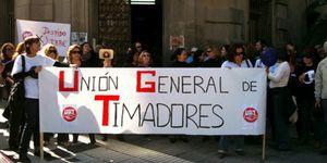 Foto: UGT aplica el 'despido libre' a 160 trabajadores de su fundación en Canarias