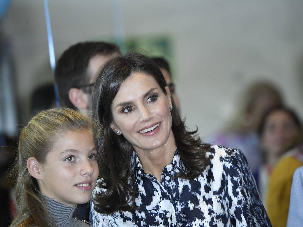 Foto: La reina Letizia, en su segundo día en Barcelona. (Limited Pictures)