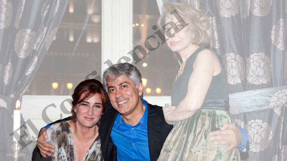 Foto: Massoud Zandi, junto a Cristina Salvador, la administradora de sus sociedades. (EC)