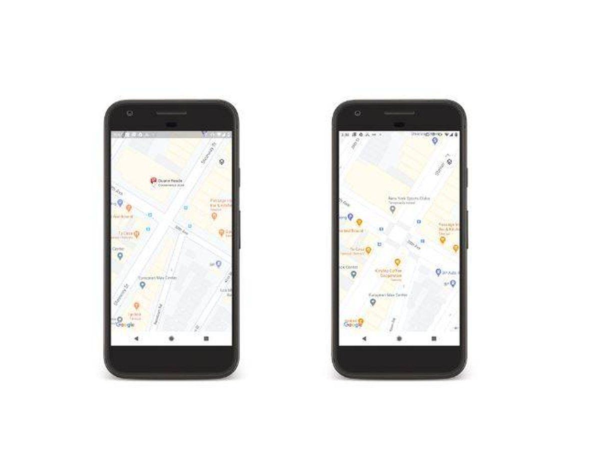 Foto: Google Maps incluye más detalles a la información sobre las calles. (Google)