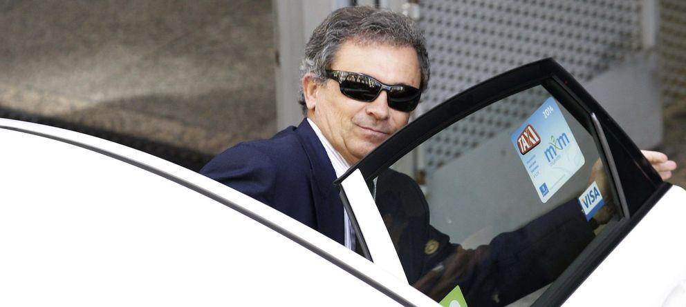 Foto: Jordi Pujol Ferrusola, a su salida de la Audiencia Nacional. (EFE)