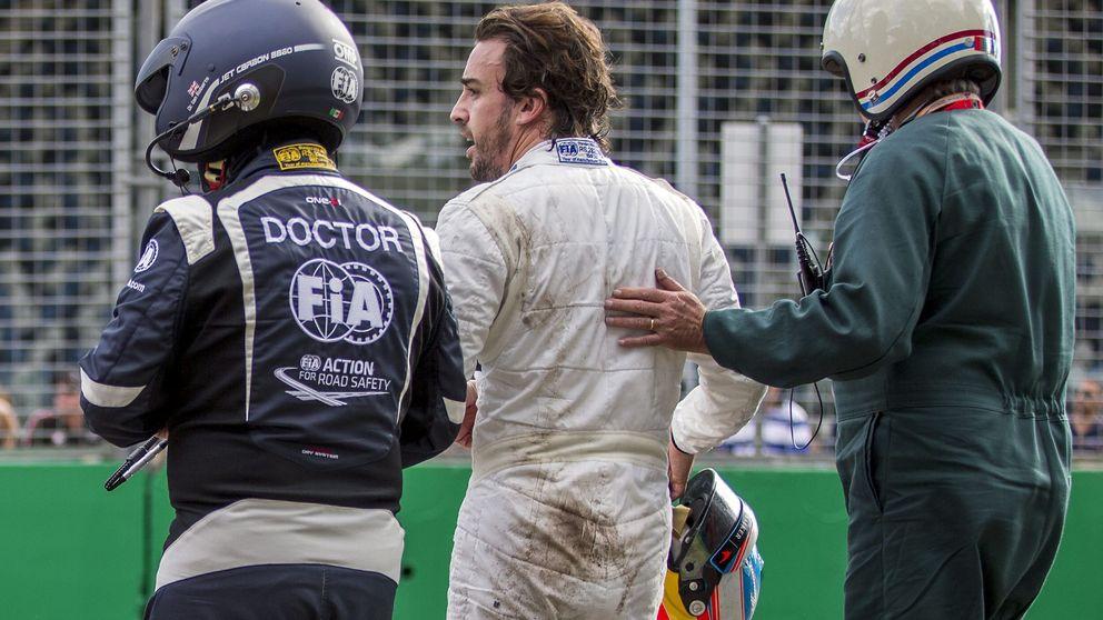 De Senna a Kubica: los accidentes que han salvado la vida de Fernando Alonso