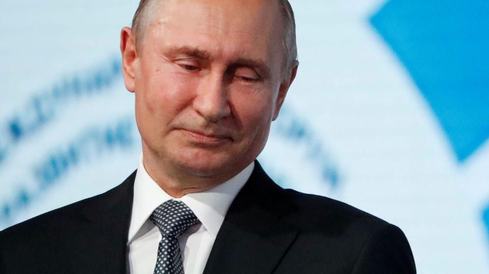 Foto: Putin en Moscú. (Reuters)