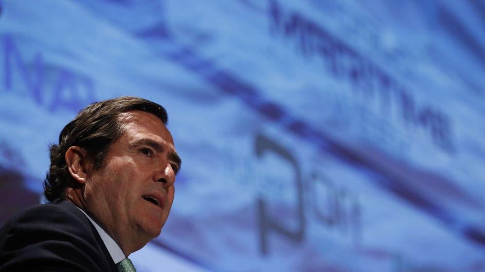 Foto: El presidente de la CEOE, Antonio Garamendi (Efe)