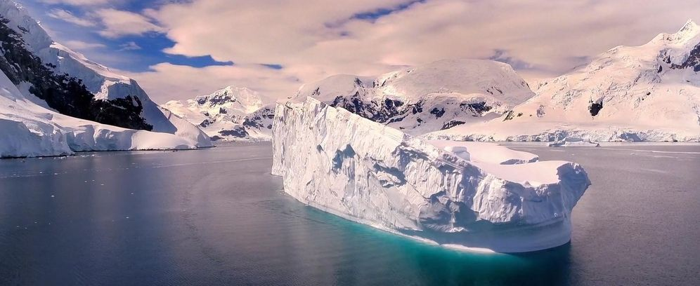 Foto: La Antártida comienza a derretirse