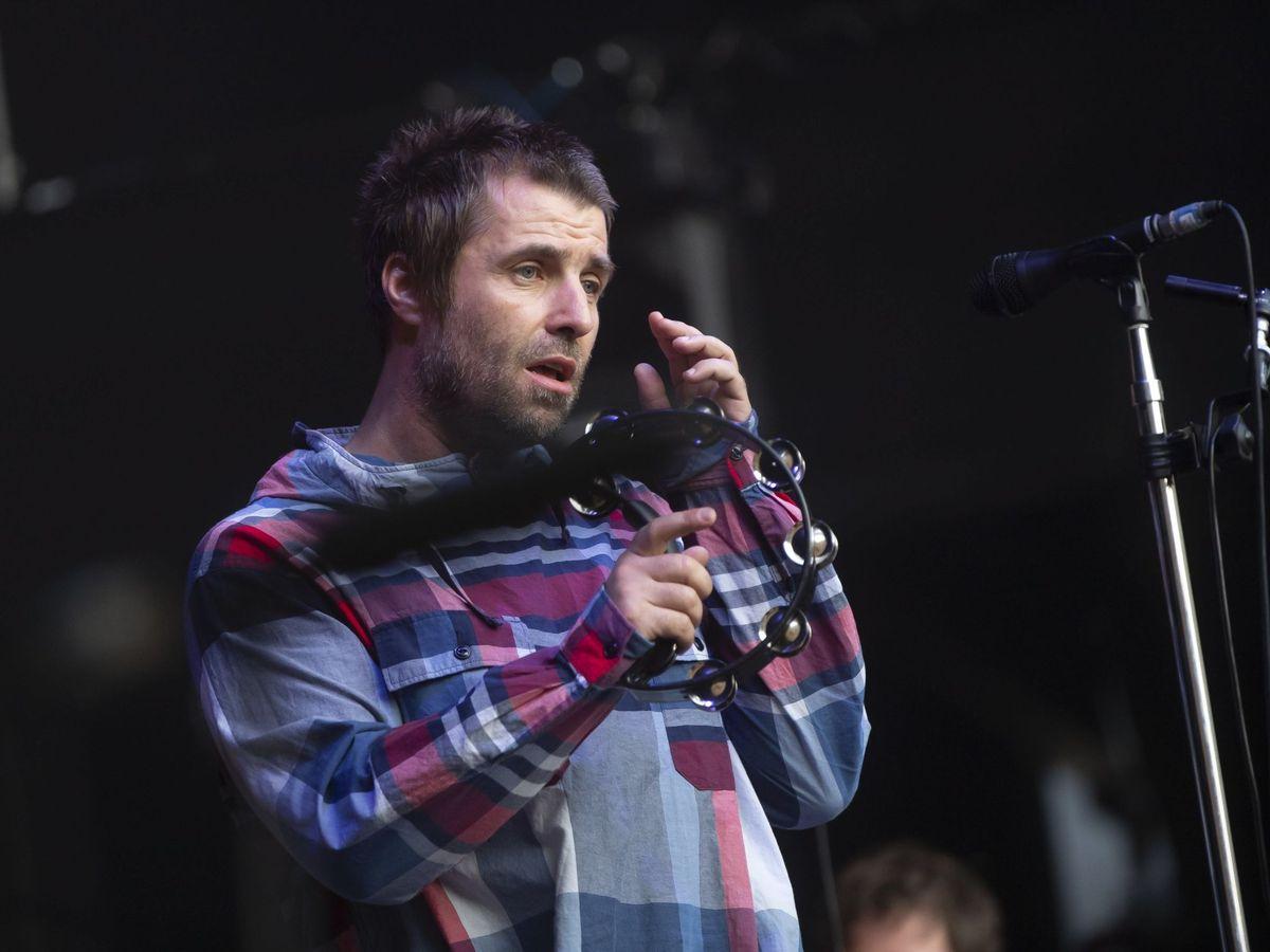 Foto: Liam Gallagher (EFE/EPA/Pablo Gianinazzi)