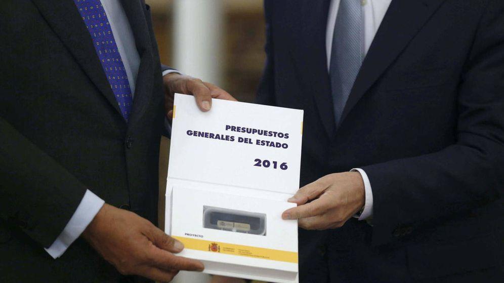 Foto: Presentación de los presupuestos generales del Estado de 2016. (EFE)