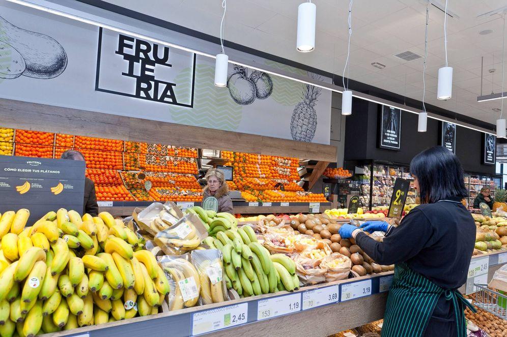 Foto: Interior de un supermercado BM. (EC)