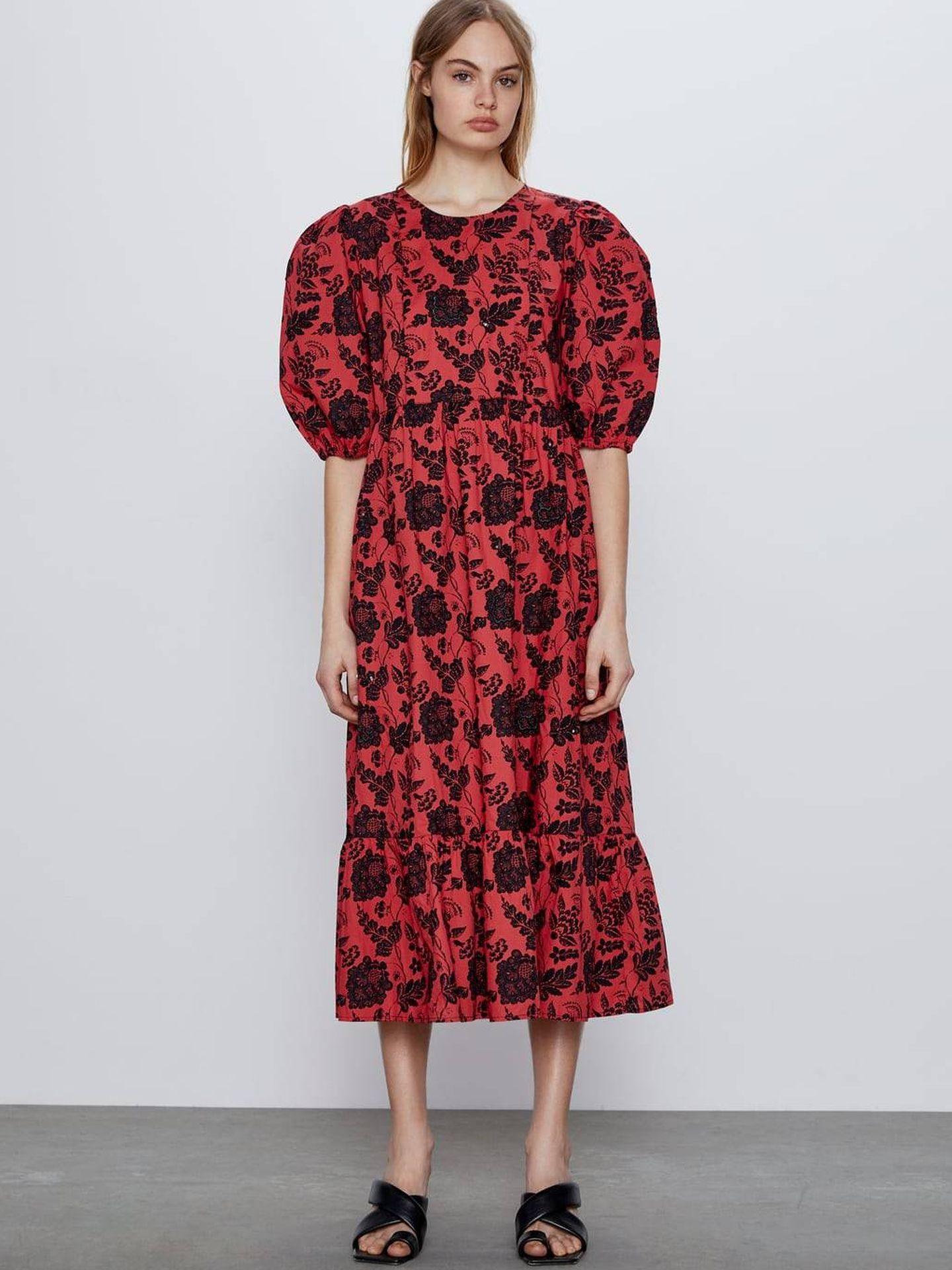Este es el vestido de Zara que arrasa en ventas (Cortesía)