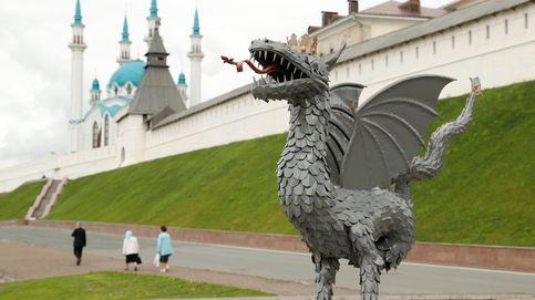 Un dragón en Rusia