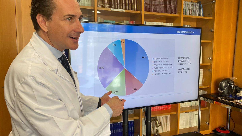 Ernesto Bosch, director de la clínica del IVI en Valencia.