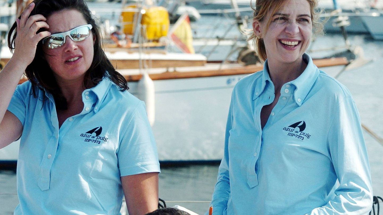 Alexia, con Cristina en 2004: tiempos felices. (Gtres)