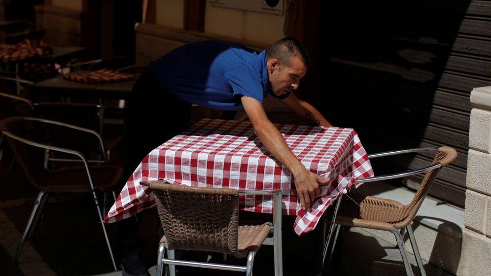 Foto: El aumento del empleo a tiempo parcial involuntario se ha forjado en el sector servicios. (Reuters/Jon Nazca)