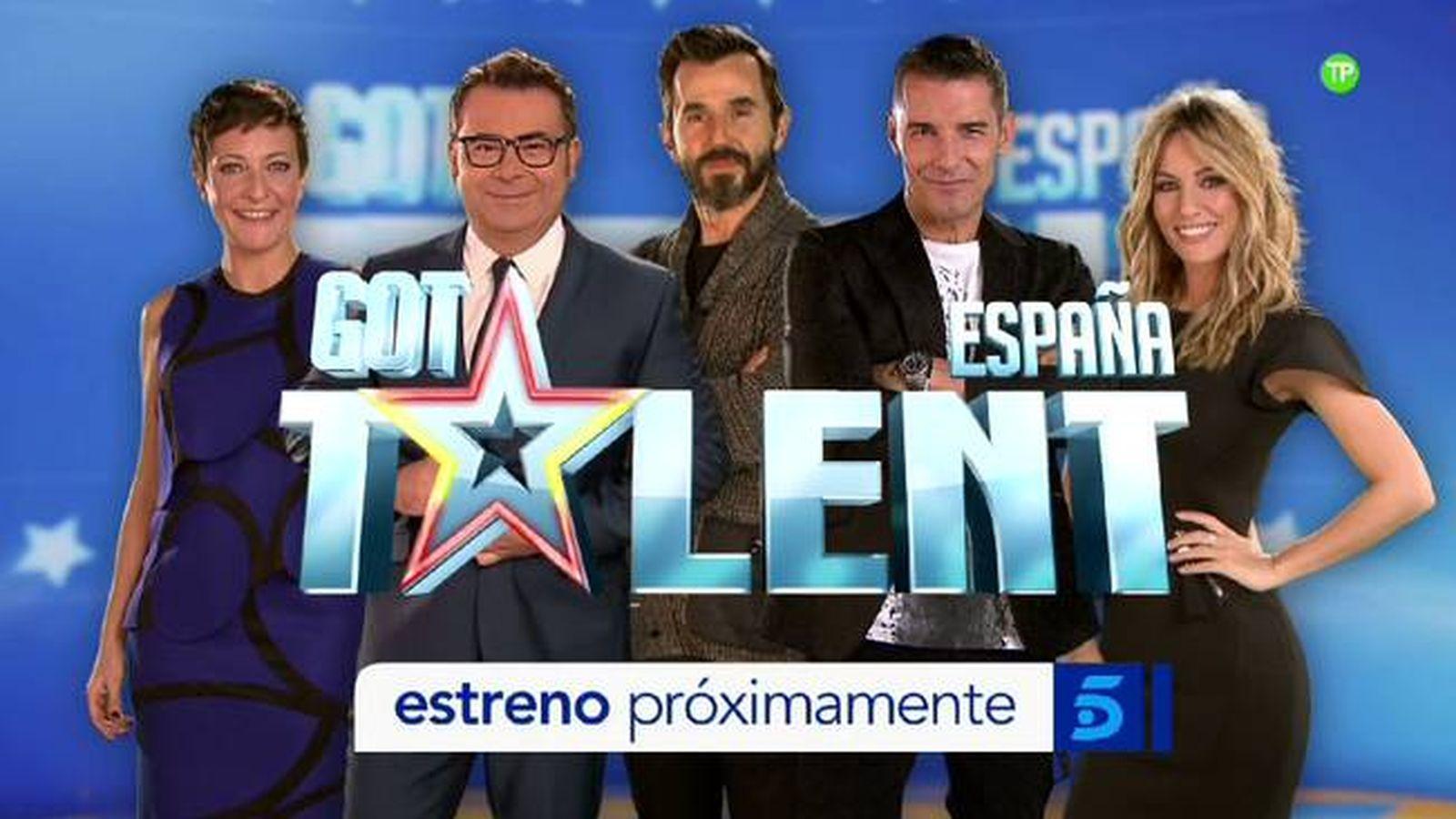 Foto: Santi Millán junto al jurado de 'Got Talent España'