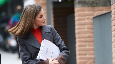 Doña Letizia: veintiséis días después, idéntico look y nuevo corte de pelo