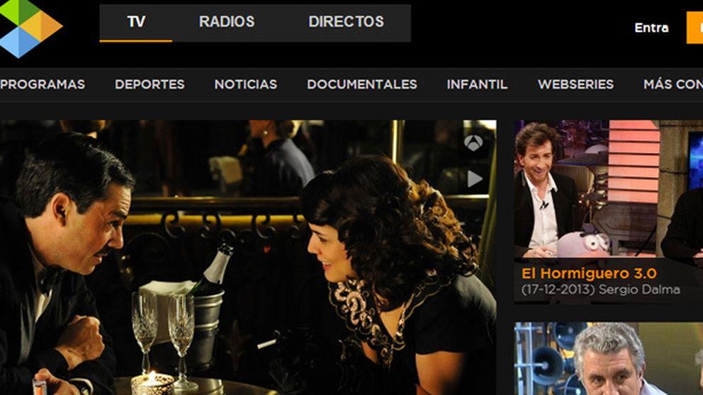 Antena 3 vuelve a superar a Tele5 con su plataforma de vídeo online