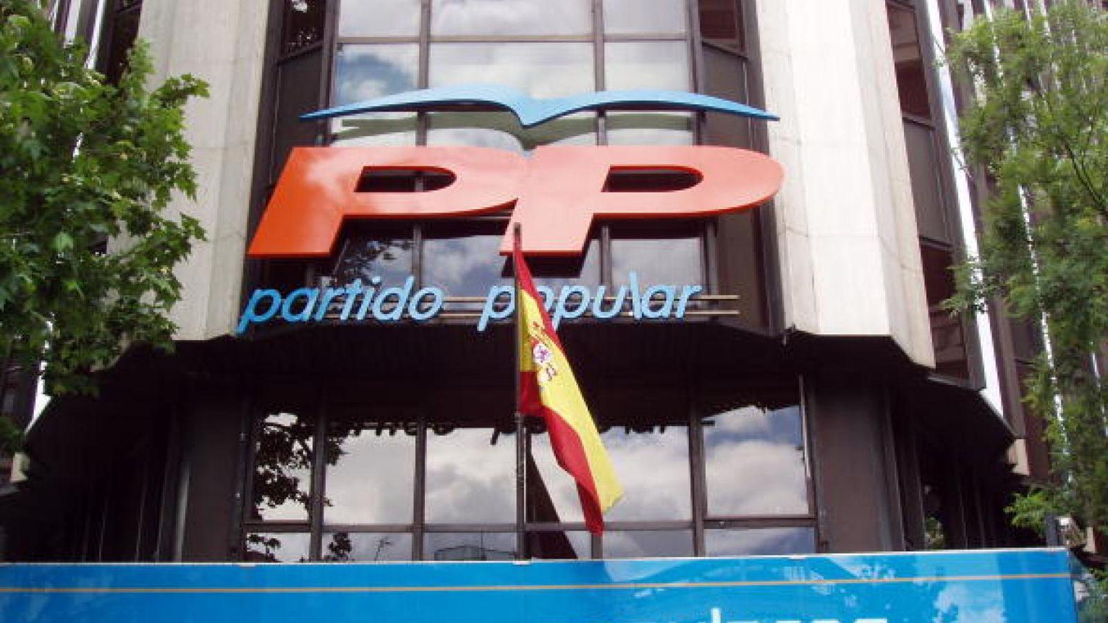 Foto: Sede del Partido Popular.